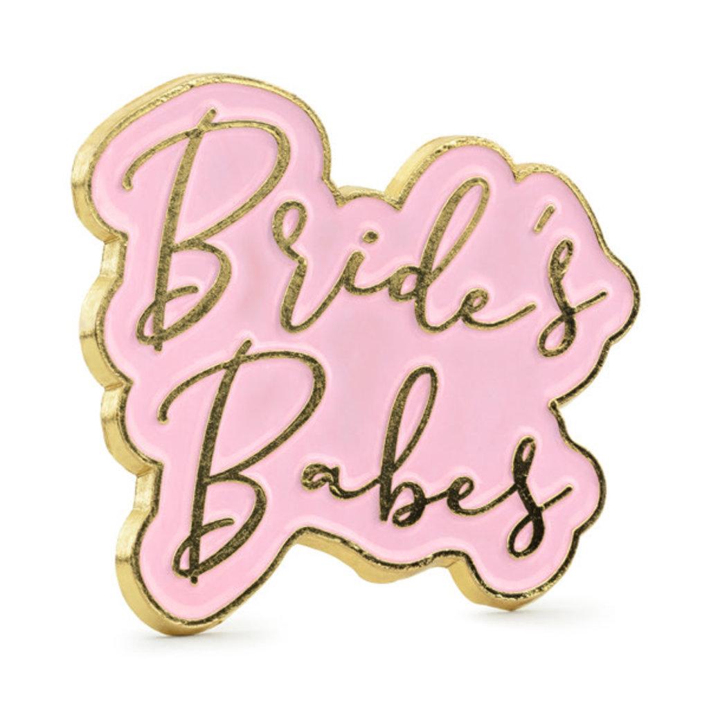 Partydeco Pin - Bride's Babes