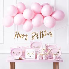 Partydeco Happy Birthday - Cat party set