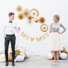 Weddingstar Gouden Slinger Mr & Mrs