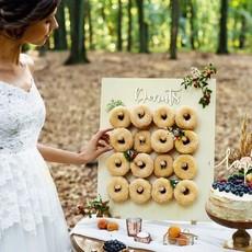 Partydeco Donut Wall 45x 55 cm