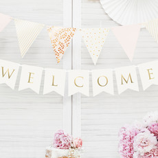 Partydeco Slinger Welcome