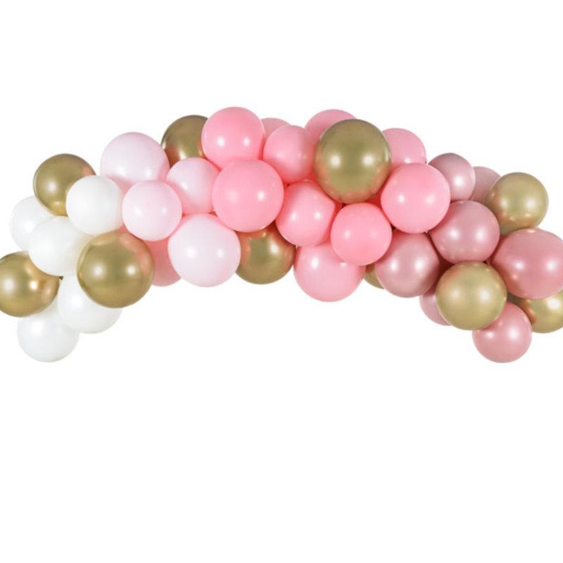 Partydeco Balloon Garland - Pink