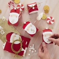 Ginger Ray Santa Advent Kalender doosjes