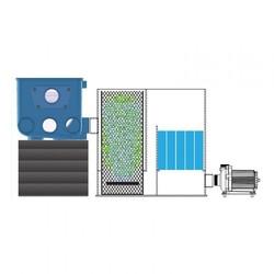 Aquaforte Bio Kamer Inclusief Filtermateriaal