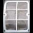 AquaForte Aquaforte Filtergaas Element 60 Micron Rvs Voor De Trommelfilter