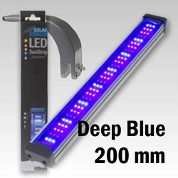 Opruiming En Zonder Garantie Econlux Led 200mm Deepblue +1x Bridgeholder