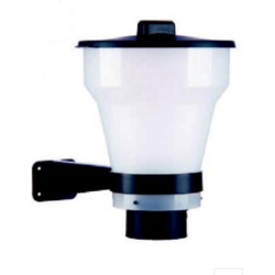Witte container tbv Xclear Fish Feeder