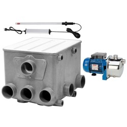 AquaForte Trommelfilter AFT + Jetpomp