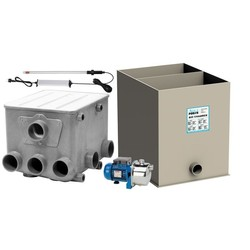AquaForte Trommelf.Jetpomp+biokamer SG560