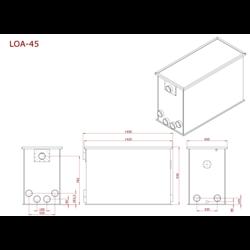 AEM OA-45 Combi/Totaalfilter