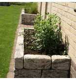 TuinVisie Blackburn Walling Abbey Grey 30x10x14 cm