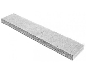 Schellevis Oud Hollandse opsluitband - tegel 100x50x7 cm grijs