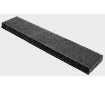 Schellevis Oud Hollandse opsluitband - tegel 100x40x5 cm carbon