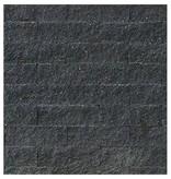 TuinVisie Wallblock split Antraciet 10x10x40 cm