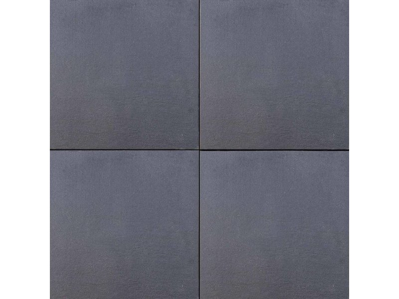 TuinVisie  Intensa line Haze Black 60x60x4 cm