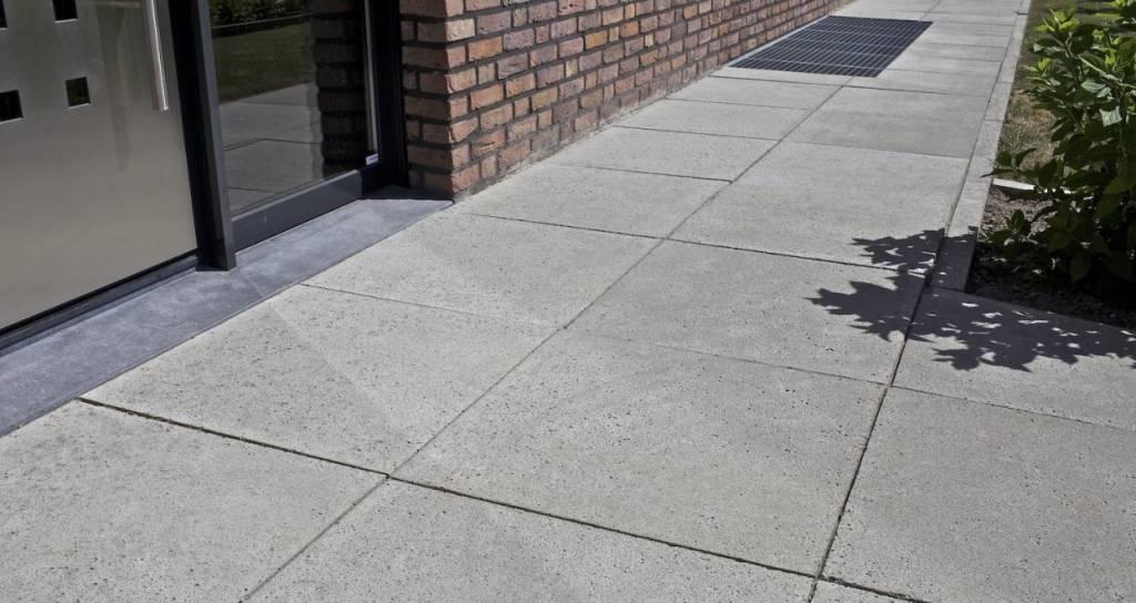 Tegels 60x60 Antraciet Tuin.Schellevis Oud Hollandse Tegel Grijs 40x40x5 Cm