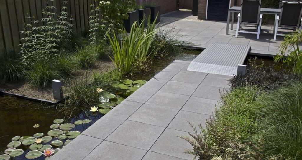 Oud Hollandse Tegels : Oud hollandse tegel antraciet 60x60x5 cm top tuinmaterialen