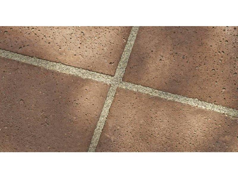 Schellevis Oud Hollandse tegel Roodbruin 50x50x5 cm