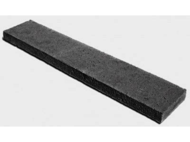 Schellevis Oud Hollandse opsluitband 100x50x5 cm carbon