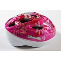Volare Volare Fietshelm - Skatehelm Deluxe Roze Zilver 51-55 cm
