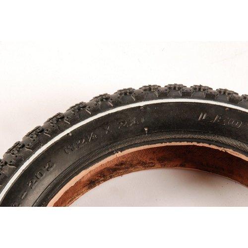 Volare Buitenband - 12 inch - Nopjes - Zwart - Kinderfiets