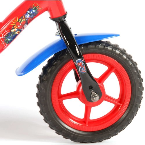 Spiderman Spider-Man Kinderfiets - Jongens - 10 inch - Rood/Blauw