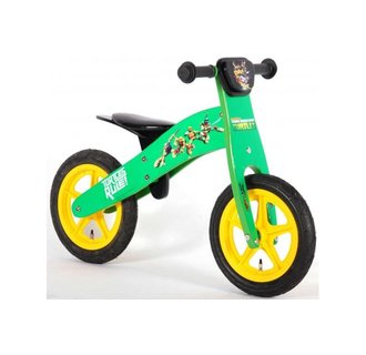 Teenage Mutant Ninja Turtles Houten Loopfiets - Jongens - 12 inch - Groen