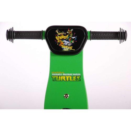 Turtles Teenage Mutant Ninja Turtles Houten Loopfiets - Jongens - 12 inch - Groen