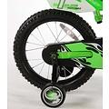 Volare Volare Motobike Kinderfiets - Jongens - 16 inch - Groen - 95% afgemonteerd