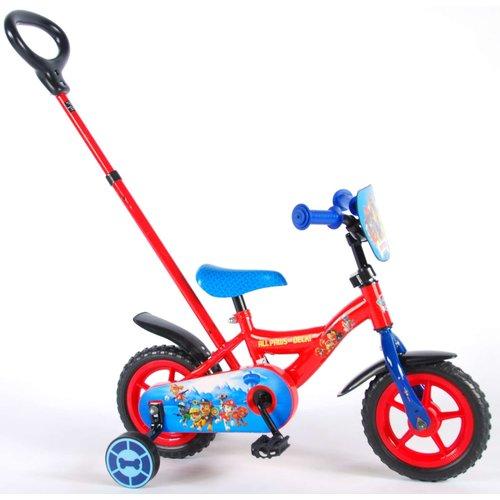 Paw Patrol Paw Patrol Kinderfiets - Jongens - 10 inch - Rood/Blauw
