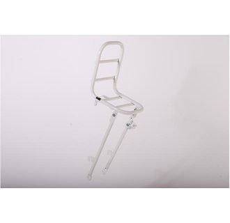 Volare Voordrager - Wit - Voor 26 inch kinderfietsen