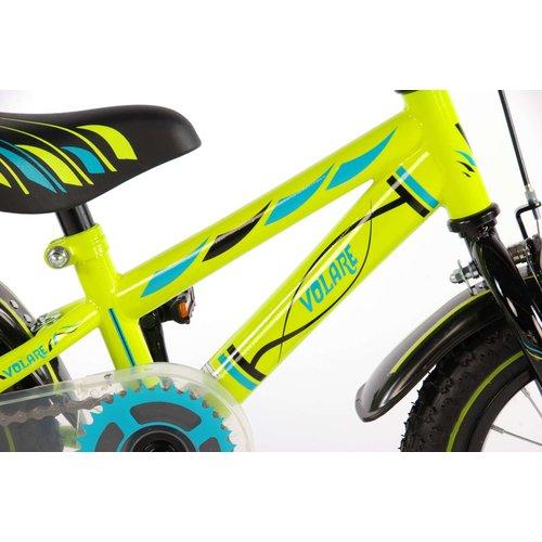 Volare Volare Electric Green Kinderfiets - Jongens - 12 inch - Groen