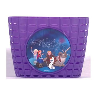 Disney Frozen Plastic Mandje - Meisjes - Paars