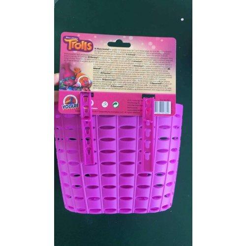 Volare Punky Plastic Mandje - Meisjes - Roze