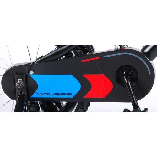 Volare Volare Blade Kinderfiets - Jongens - 14 inch - Zwart - 95% afgemonteerd