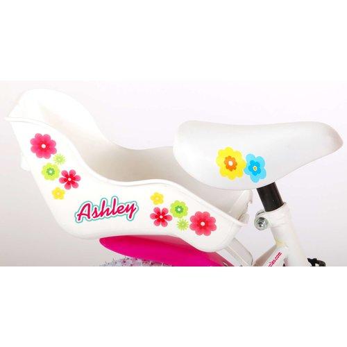 Volare Volare Ashley Kinderfiets - Meisjes - 12 inch - Wit - 95% afgemonteerd