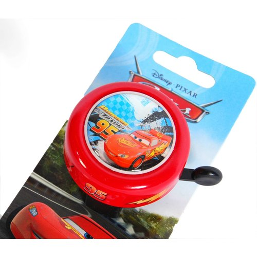 Disney Cars Disney Cars Fietsbel - Jongens - Rood