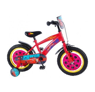 Disney Cars 3 Kinderfiets - Jongens - 14 inch - Rood