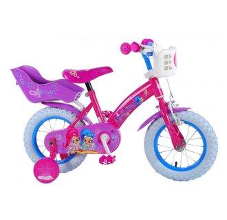 Shimmer & Shine Kinderfiets - Meisjes - 12 inch - Roze