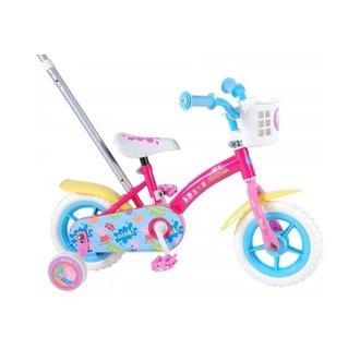 Peppa Pig Kinderfiets - Meisjes - 10 inch - Roze/Blauw
