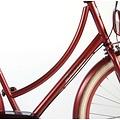 Salutoni SALUTONI Excellent Volwassenfiets - Vrouwen - 28 inch - 50 centimeter - Bordeaux - Shimano Nexus 3 versnellingen - 95% afgemonteerd