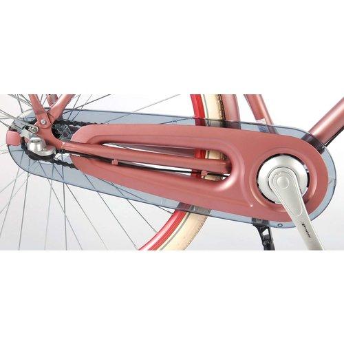Salutoni SALUTONI Excellent Volwassenfiets - Vrouwen - 28 inch - 50 centimeter - Oud Roze - Shimano Nexus 3 versnellingen - 95% afgemonteerd
