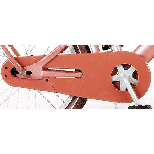 Volare Volare Excellent Kinderfiets - Meisjes - 18 inch - Oud Roze - 95% afgemonteerd