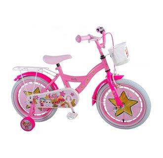 LOL Surprise Kinderfiets - Meisjes - 16 inch - Roze