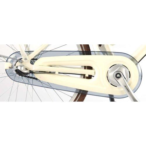 Volare Volare Excellent Kinderfiets - Meisjes - 24 inch - Parelmoer Wit - Shimano Nexus 3 versnellingen - 95% afgemonteerd
