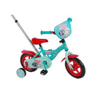 Woezel & Pip Kinderfiets - Jongens - 10 inch - Blauw/Rood