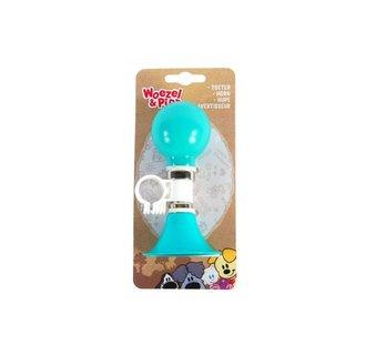 Woezel & Pip Fietstoeter - Kinderen - Mint Blauw