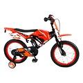 Volare Volare Motorbike Kinderfiets - Jongens - 16 inch - Oranje - 95% afgemonteerd