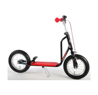 Volare Step - Jongens en Meisjes - 12 inch - Zwart/Rood