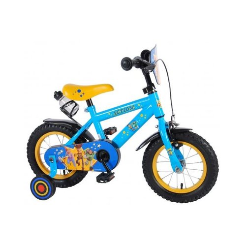 Toy Story Disney Toy Story Kinderfiets - Jongens - 12 inch - Blauw/Geel